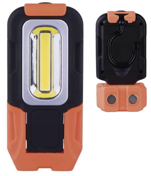 Plastová LED lampa s magnetickým uchytením
