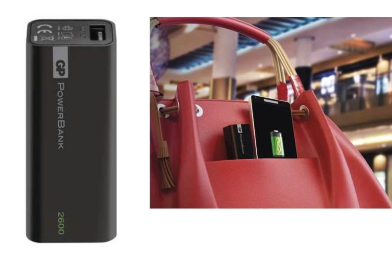 Dobíjacia batéria - GP Powerbank 2600 mA