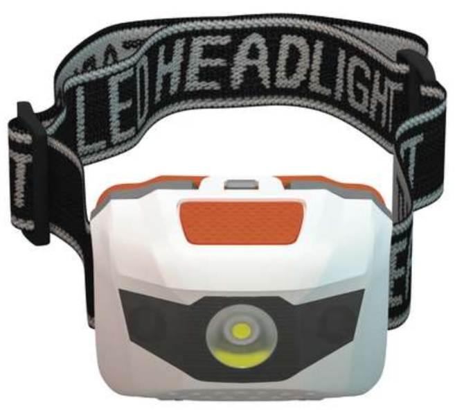 Rybárska čelová lampa 3 LED diódy