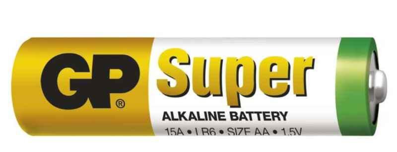 Batéria LR6 1,5V Super Alkalická - 2ks bal/cena za 1ks