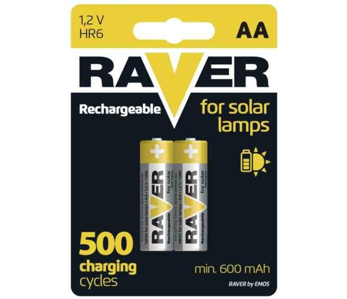 Nabíjacia 1,2V AA batéria RAVER - 2ks bal/cena za 1ks