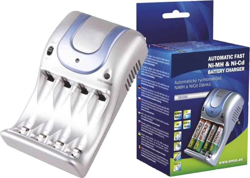 Inteligentná plug-in nabíjačka batérií AA / AAA KN-8501