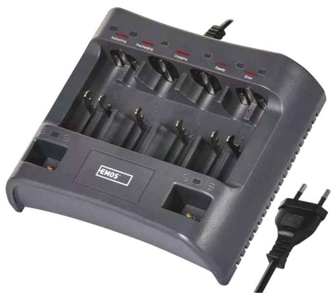 Univerzálna nabíjačka batérií 6xAA/AAA 2x9V