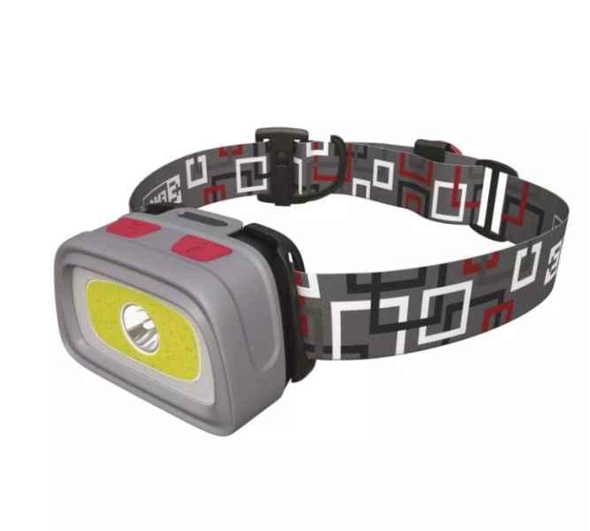 Rybárska CREE LED + COB LED čelovka svietivosť 330lm