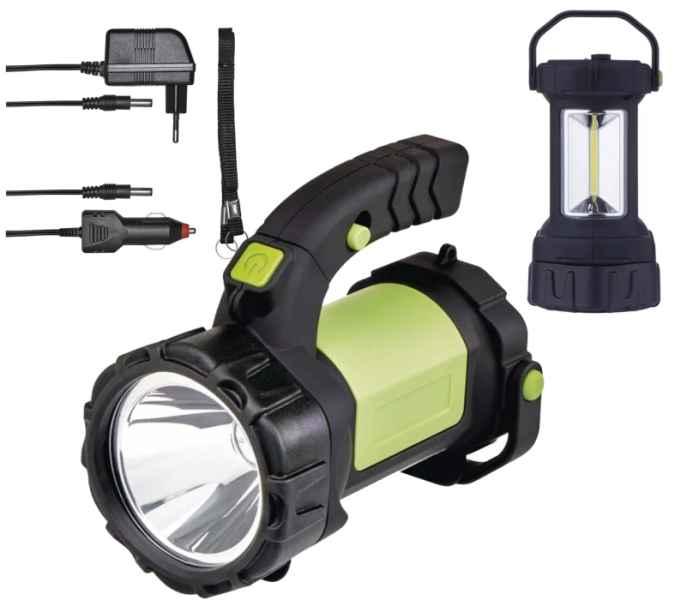 Nabíjateľné svietidlo LED CREE + COB 5W