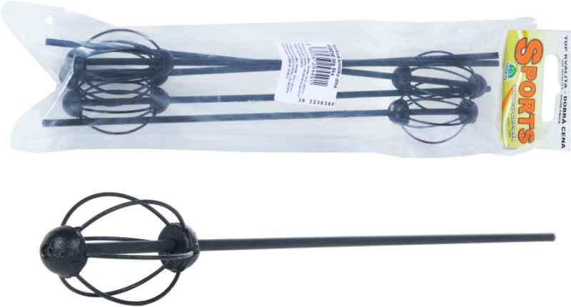 SPORTS krmítko 25cm dlhé FARBENE čierne, 5ks Hmotnosť: 20g