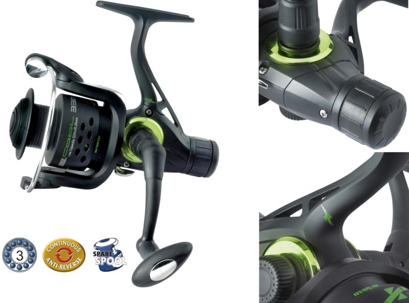 Rybársky navijak Cool X RD- zadná brzda veľkosť 350 RD