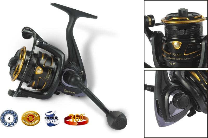 Rybársky navijak s prednou brzdou - Black Magic FD FD 440