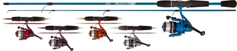 Rybársky set Rainbow Fish Combo 30g prút+navijak+silon