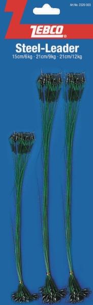 lanko oceľové zebco na karte 72ksv dĺžkach 15 a 21cm