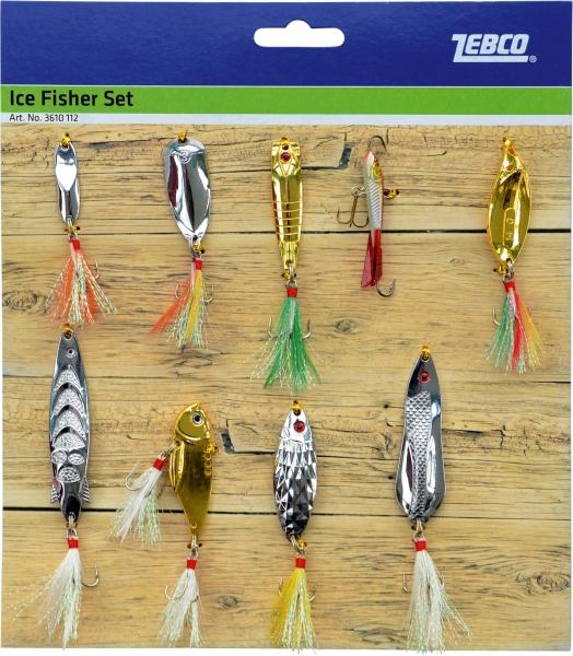 Ice Fisher Set, obsahuje 9-vecí