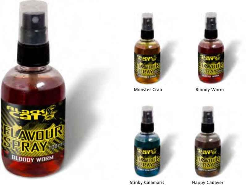 Sumcový dip v spreji Black Cat Flavour Spray 100ml Happy Cadaver