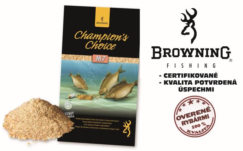 Krmivo browning champions choice 1kg m7