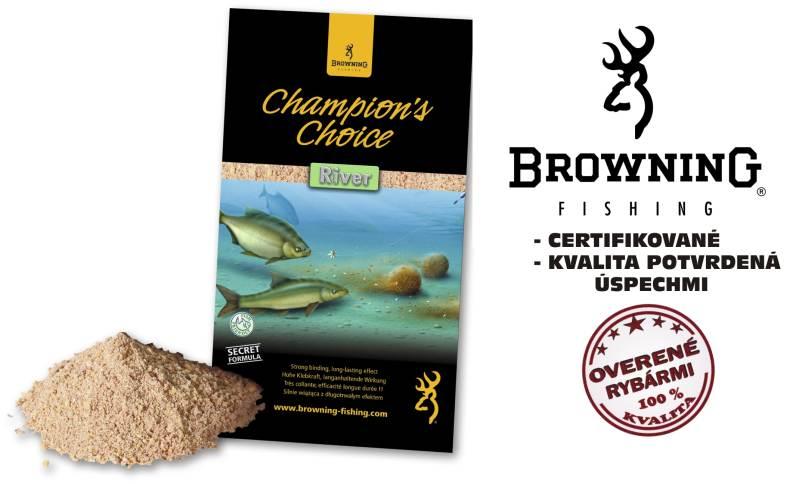 Krmivo browning champions choice 1kg river