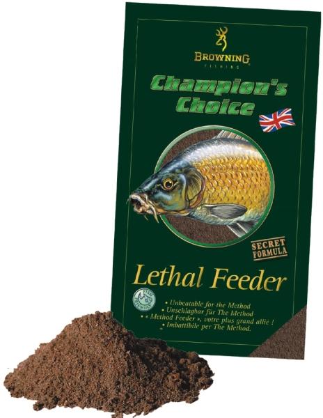 Krmivo browning champions choice 1kg lethal feeder