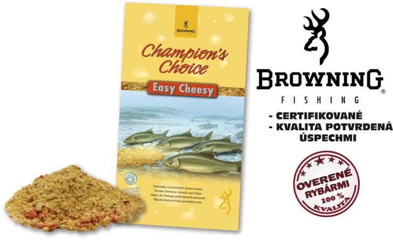 Krmivo browning champions choice 1kg easy cheesy