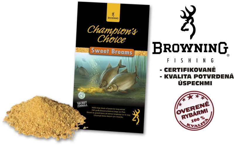 Krmivo browning champions choice 1kg sweet breams
