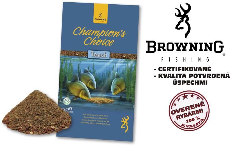 Krmivo browning champions choice 1kg tench