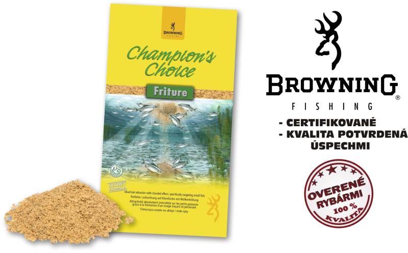 Krmivo browning champions choice 1kg friture
