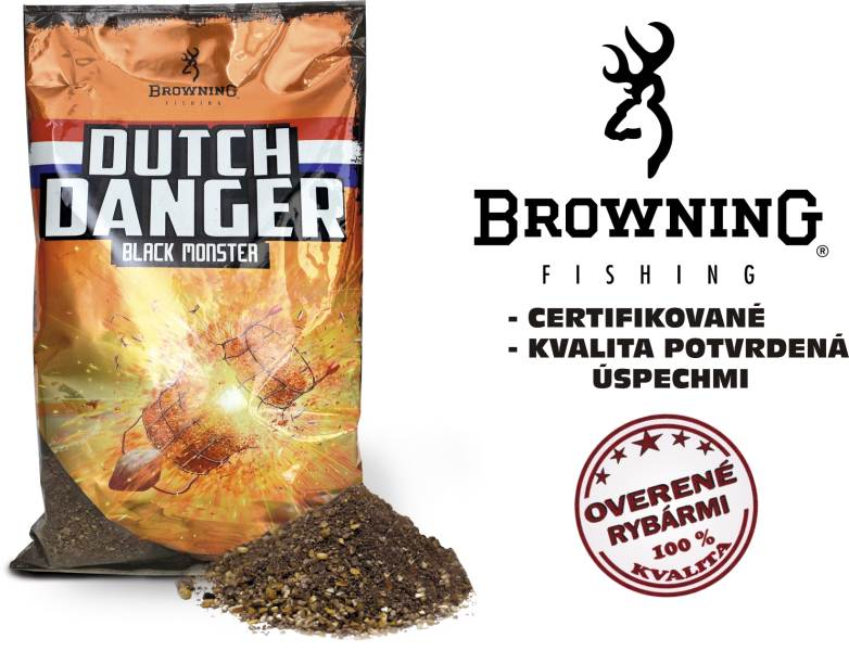 krmivo Browning Dutch Danger Black Monster, 1kg