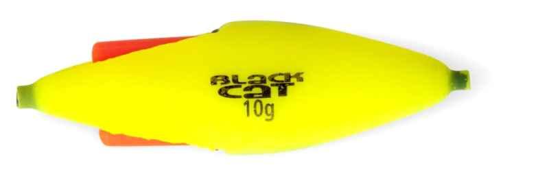 Sumcový podvodný plavák na chemické svetlo - žltý Hmotnosť: 30g dĺžka: 10cm