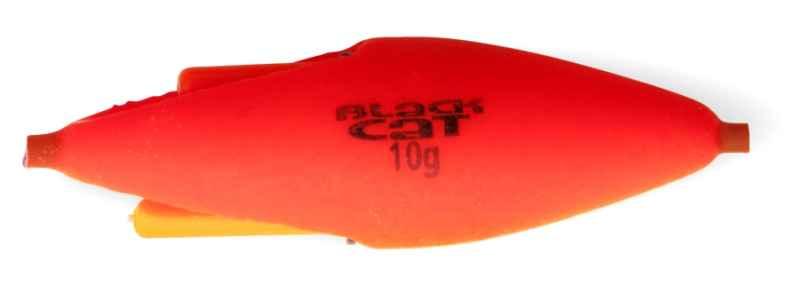 Sumcový podvodný plavák na chemické svetlo - červený Hmotnosť: 30g dĺžka: 10cm