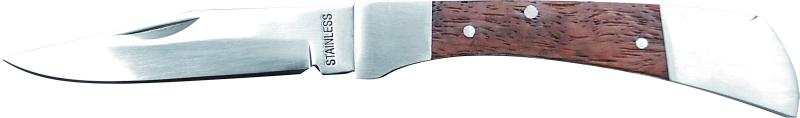 zatvarací nôž drevená rukoväť