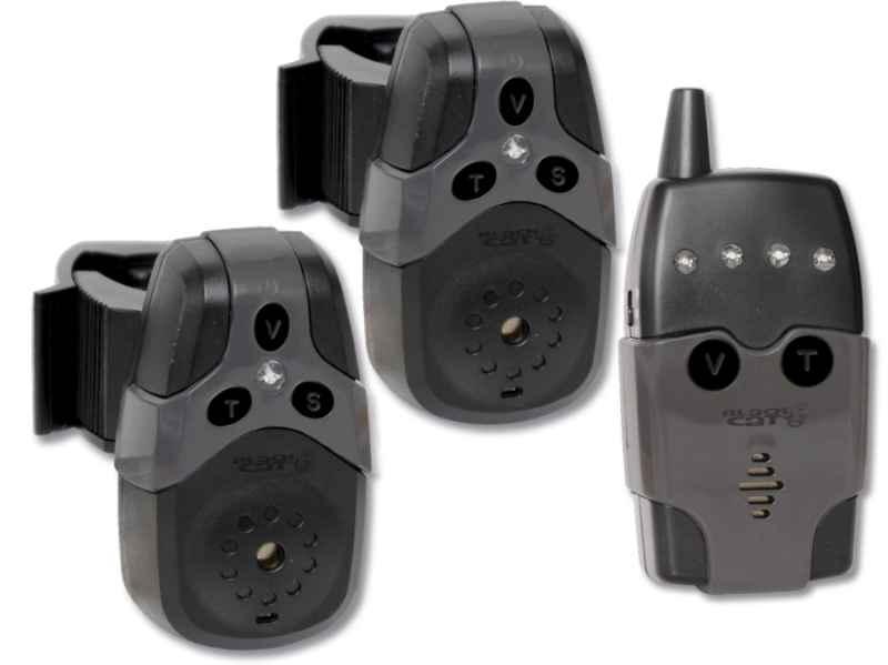 Sumcový signalizátor záberu Black Cat Set 2 + 1