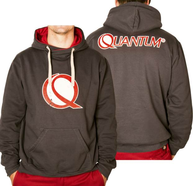 Mikina s kapucňou s logom Quantum
