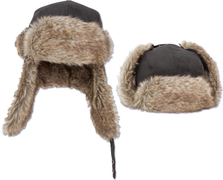 Fur Hat - pravá rybárska zateplená ušianka