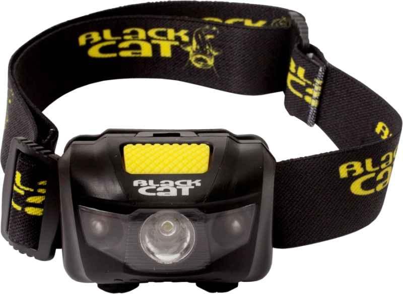 LED čelovka Black Cat, svietivosť 150 lumenov