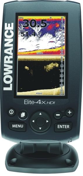 Lowrance Elite 4X HDI 4lúč na more 90°/60°/55°/30°