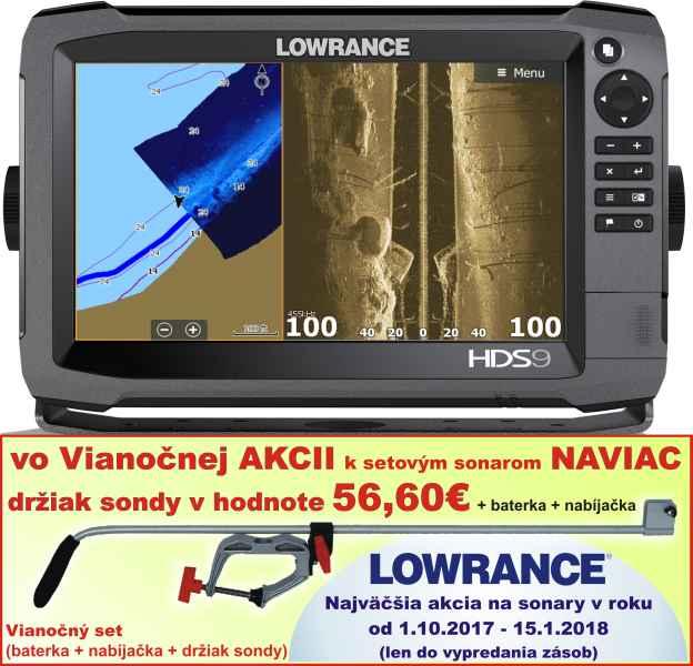 Sonar s GPS - Lowrance HDS9 GEN3