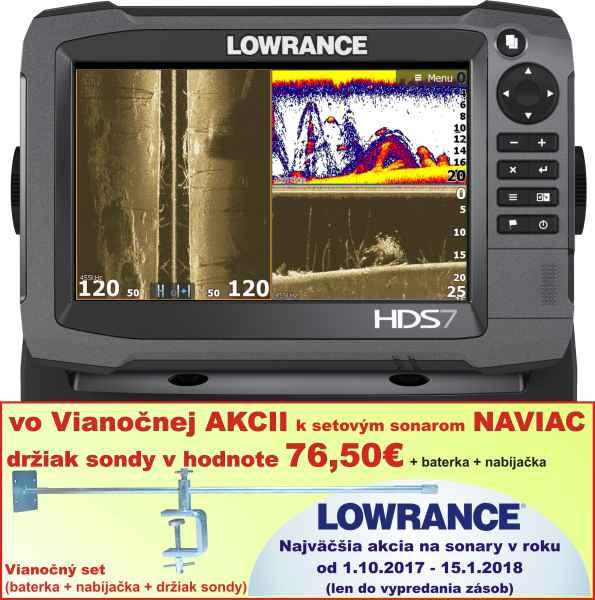 Sonar s GPS - Lowrance HDS7 GEN3