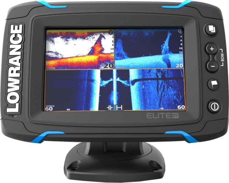 Dotykový sonar LOWRANCE Elite-5Ti so sondou TotalScan sonar + sonda TotalScan