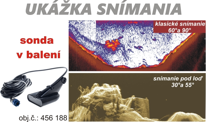 Sonar LOWRANCE Hook-5 Chirp so sondou na more / GPS