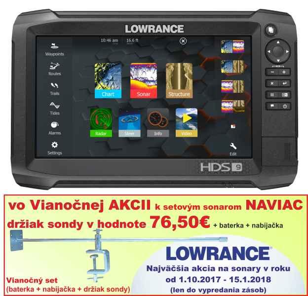 Dotykový sonar LOWRANCE HDS - 9 Carbon