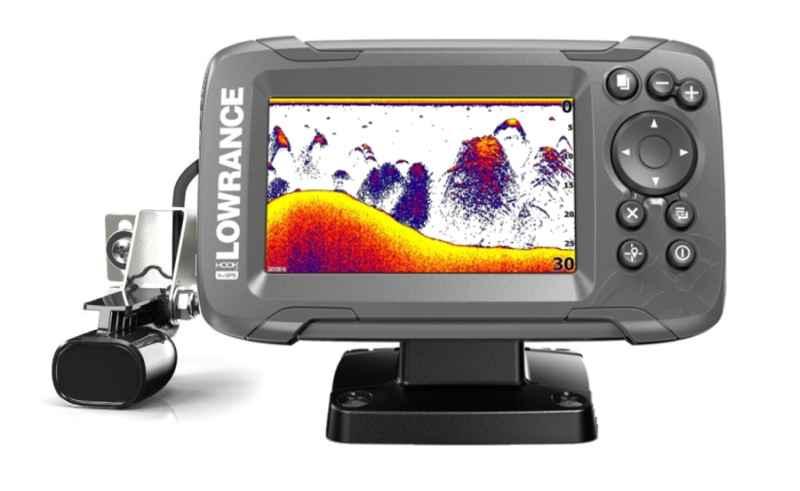 Sonar Lowrance HOOK2 - 4X GPS 200 CE ROW sonar+sonda aku.4,5Ah+nabíjačka