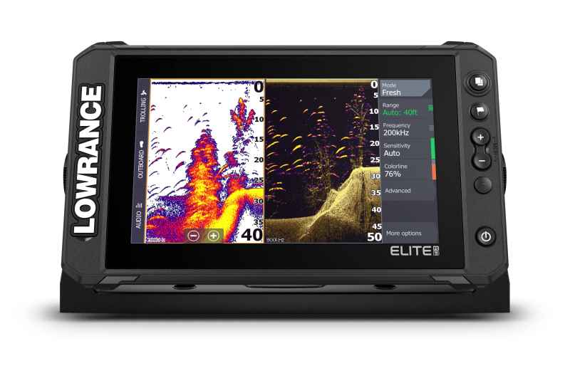 Sonar Lowrance Elite FS™ 9 so sondou Active Imaging 3-v-1