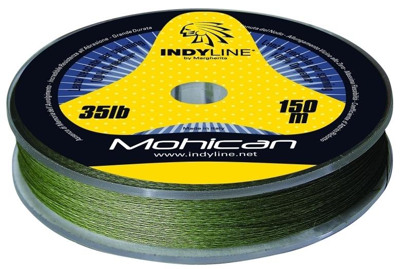 Šnúra Indy Line MOHICAN 2000m green dyneema 5lbs/2000m zelená