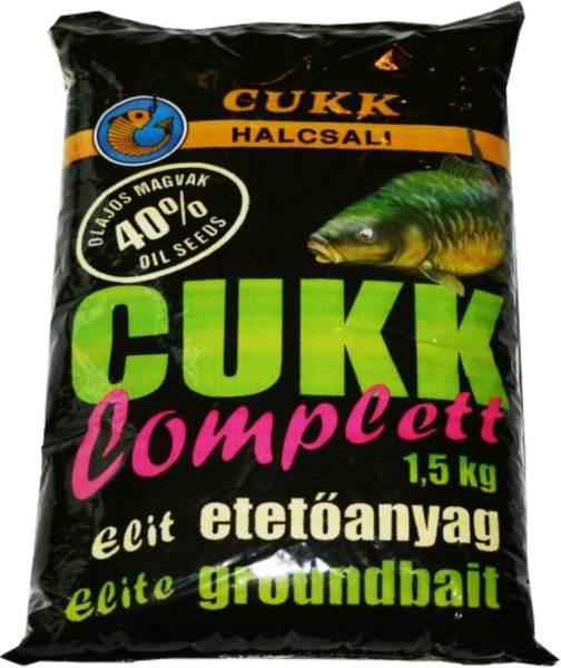 CUKK kompletná kŕmna zmes - 1,5kg s ľanovými semienkami(40%)