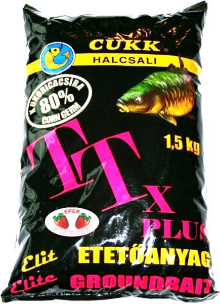 CUKK TTx s kukuričnou zmesou (80%) / 1,5kg Cesnaková príchuť