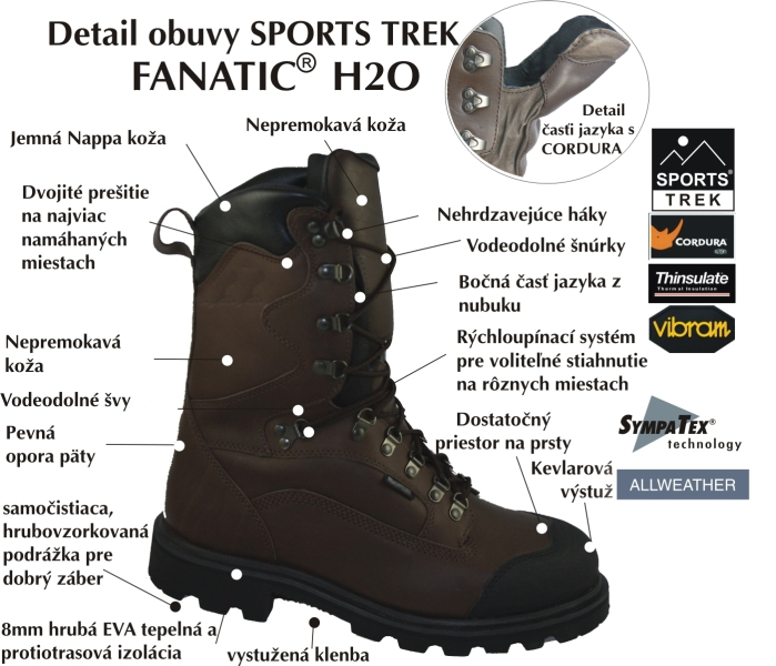 Sportstrek obuv FANATIC H2O