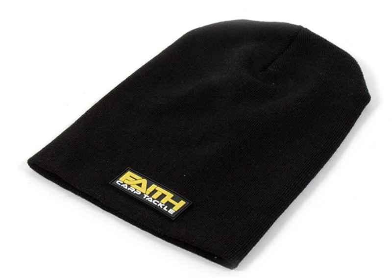 Rybárska čiapka s logom FAITH čierna