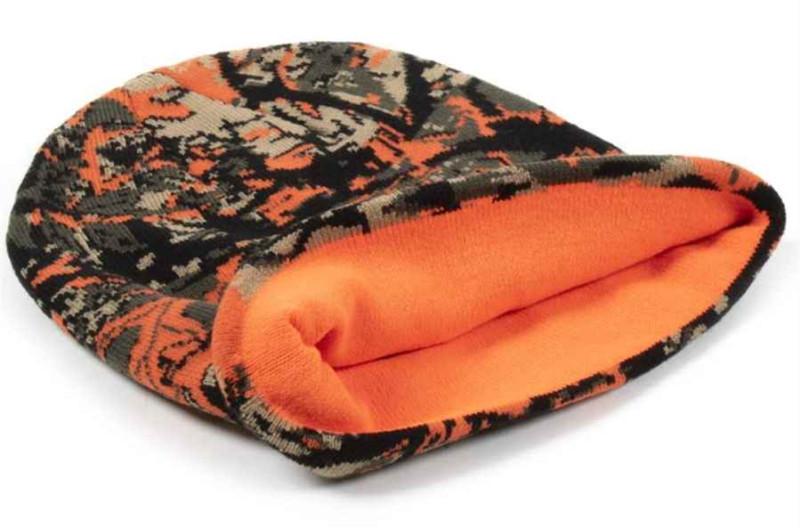 Rybárska čiapka maskáčová - oranžová