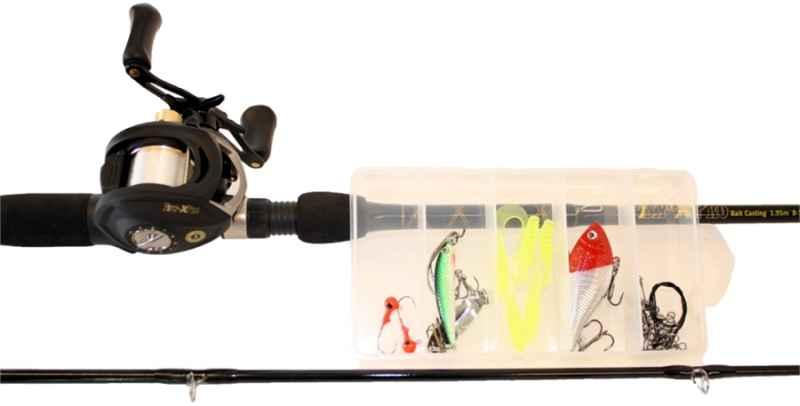 Prívlačový set multiplikátor SPORTS FISH - XPRO 1,95m