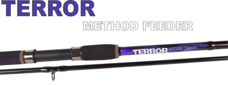 Method feeder prúty JVS Terror 2-diel 3,30m / 30-85g
