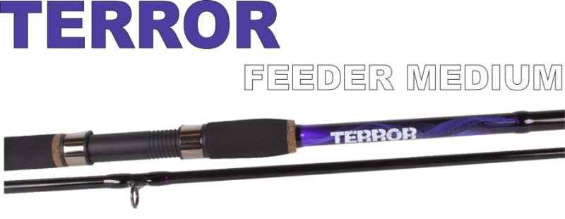 Feeder prúty JVS Terror 3-diel 3,90m / 30-80g Medium heavy
