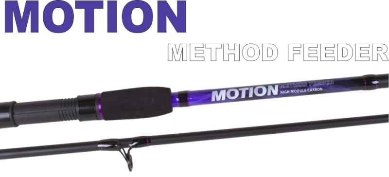 Method feeder prúty JVS Motion 2-diel 3,30m / 30-85g