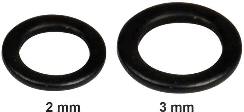 Krúžok farbený FAITH Rig Rings 10ks Priemer: 2,0mm